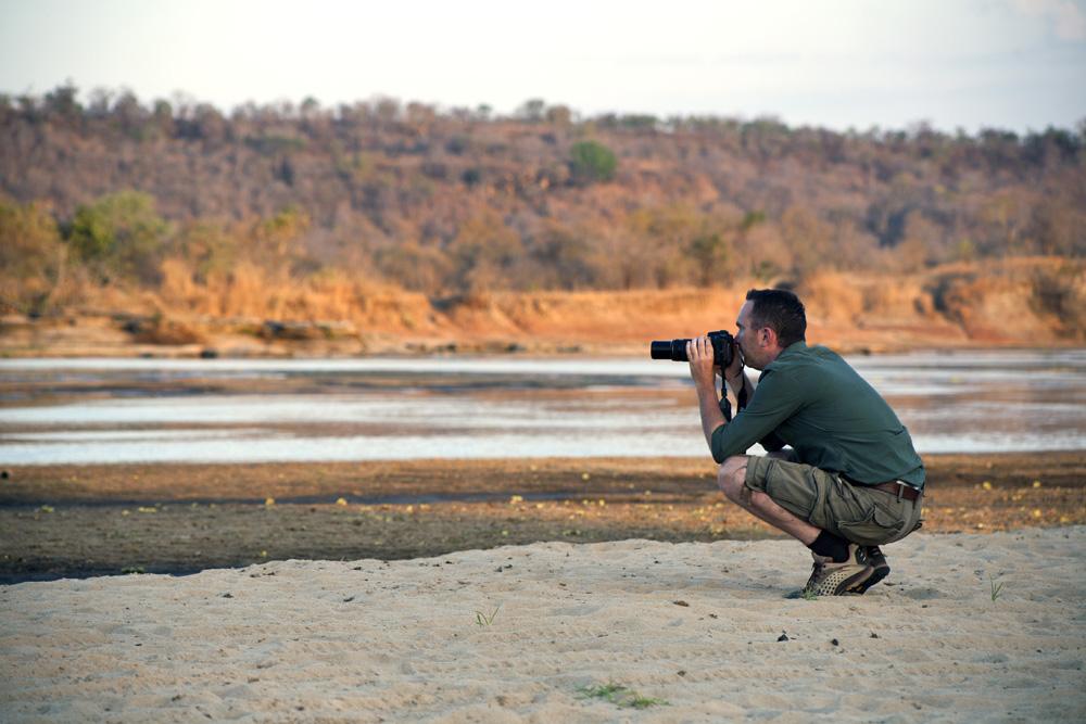 On Safari at Lukula Selous, Tanzania