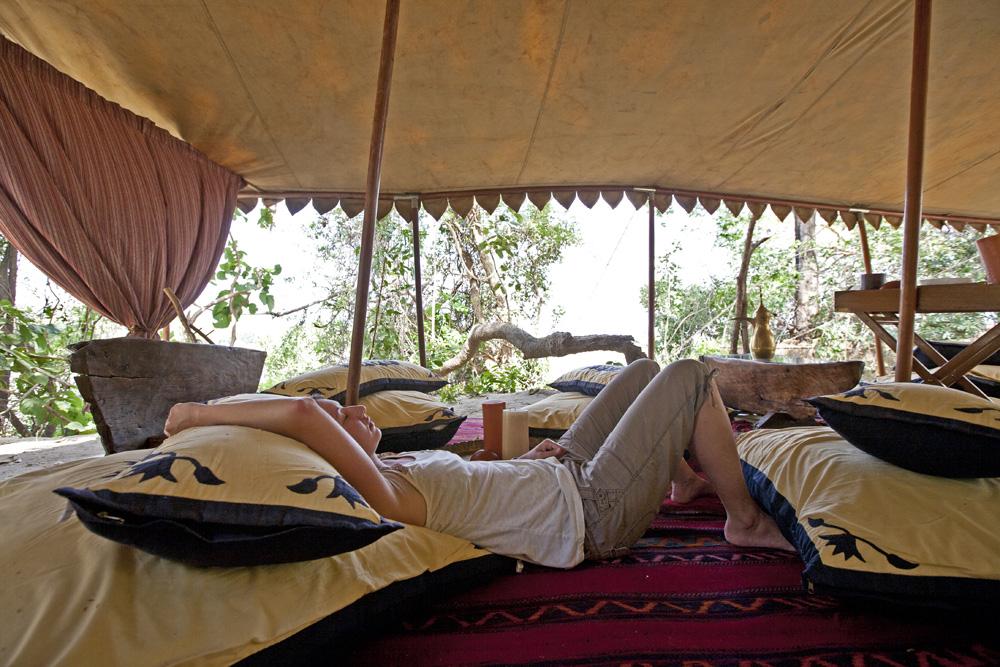 Siesta Time! Lukula Selous, Tanzania