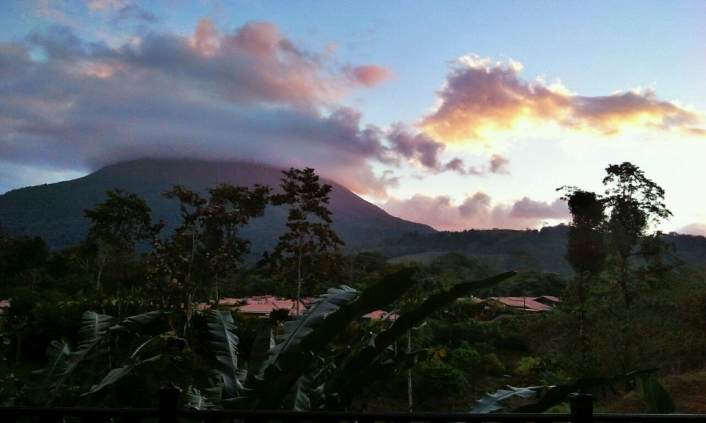 Last Hours At Arenal Volcano, Costa Rica