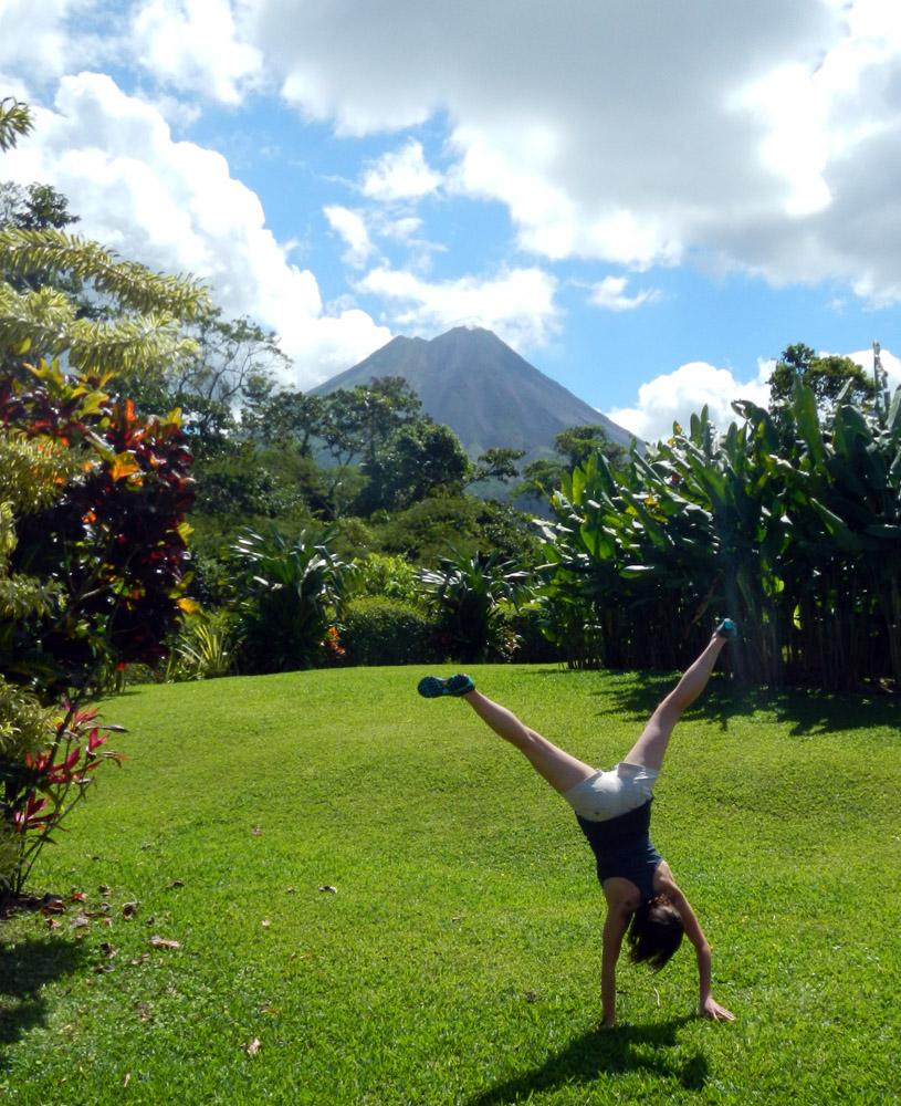 Arenal Volcano Cartwheel, Costa Rica