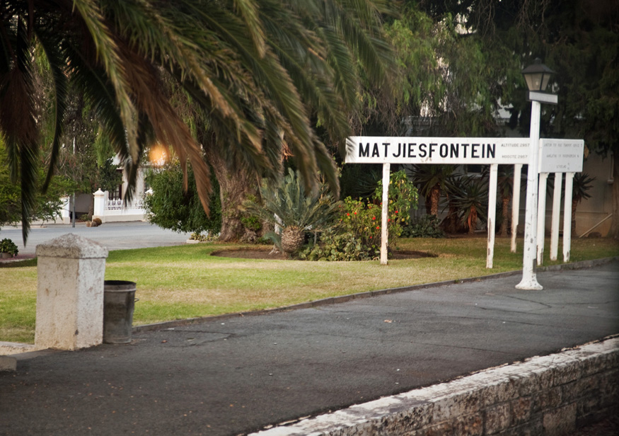 Matjiesfontein, Rovos Rail, Cape Town, South Africa
