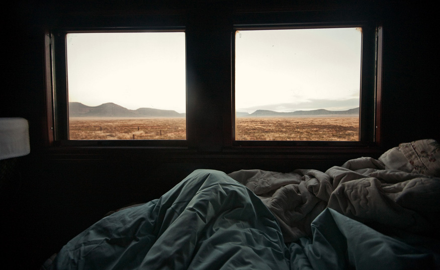 Waking up in the Karoo, Rovos Rail, South Africa