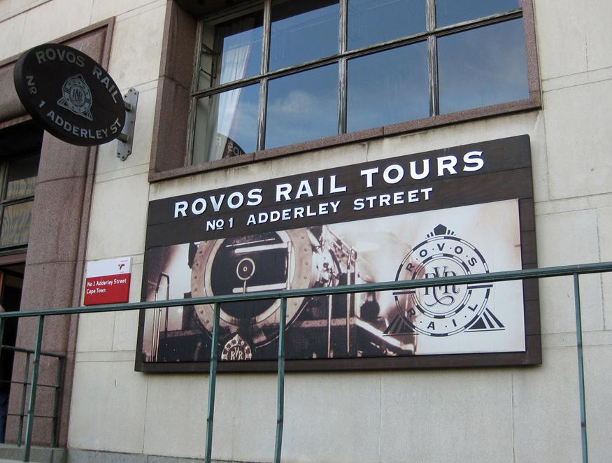 Rovos Rail Rail Tours