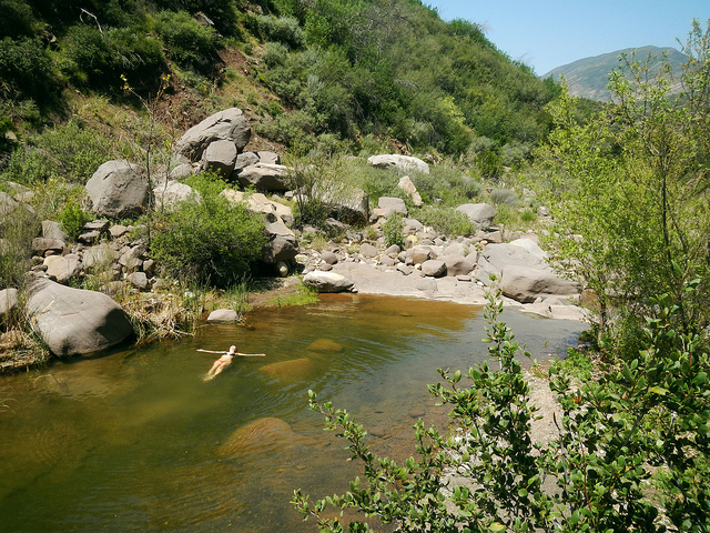Tar Creek, Sespe Wilderness