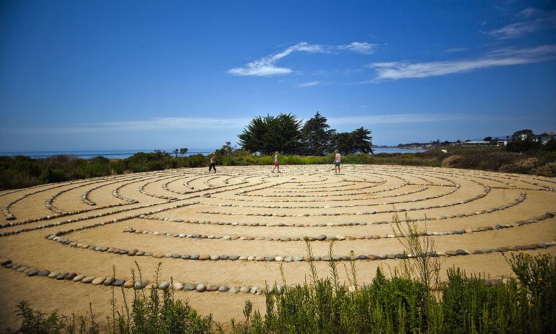 UCSB Labyrinth Santa Barbara