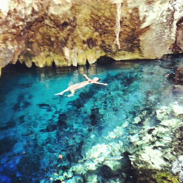 Swimming Grand Cenote Tulum