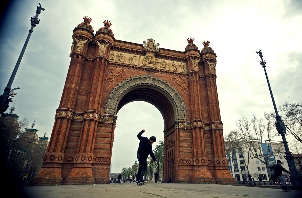 barcelona-spain-arc-de-triomphe