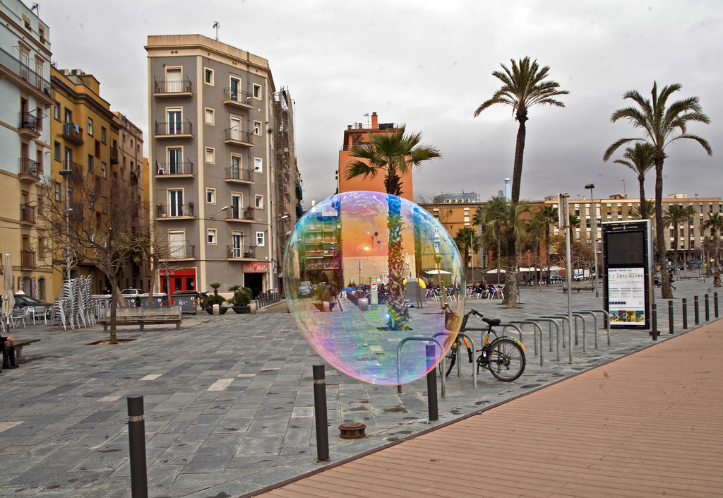Barcelona Spain Balloon