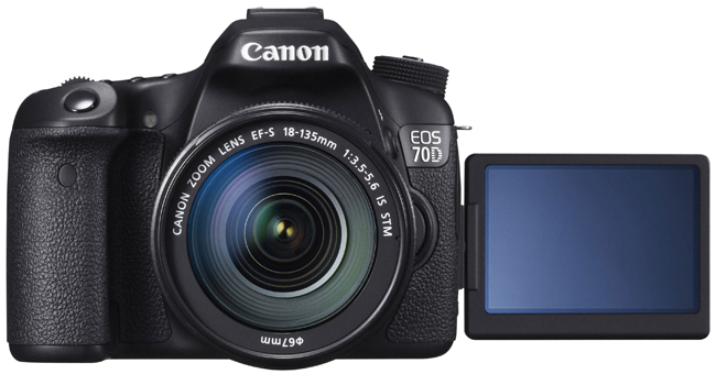 NEW! Canon 70D Camera Review