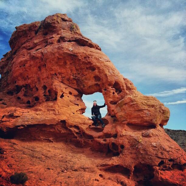 Chuckwalla Arch, St George, Utah