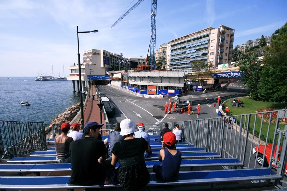 Grand Prix de Monaco Portier Turn