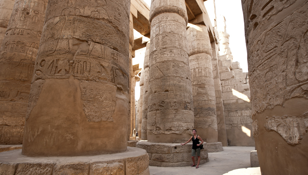 Kelly Lane, Hypostyle Hall, Temple of Karnak