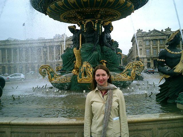Kelly in Paris, 2003