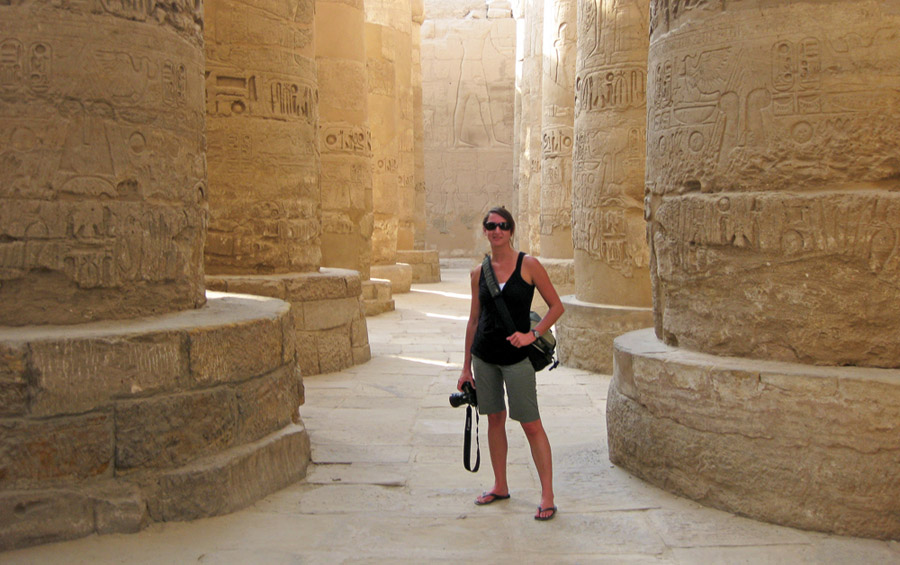 Kelly Lane, Temple of Karnak