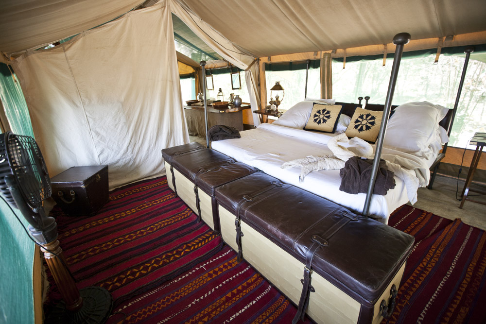 Luxury Camping In Tanzania At Lukula Selous