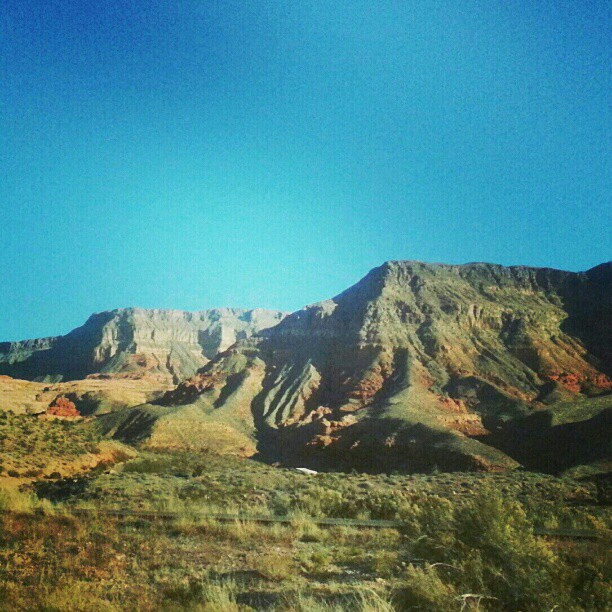 Nevada Roadside Scenery