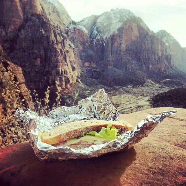 packed-lunch-zion-utah