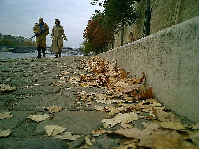 Seine Walk, Paris, France