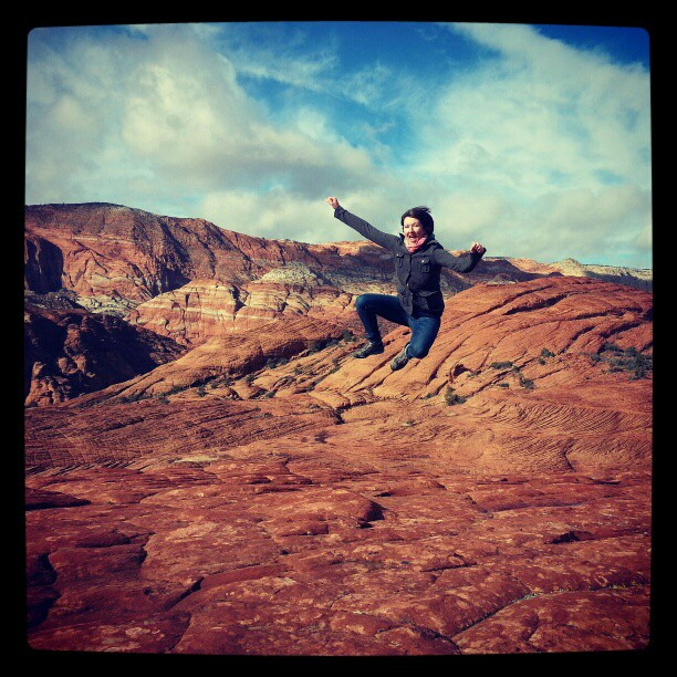 Kelly Lane Jump, Snow Canyon, St George UT