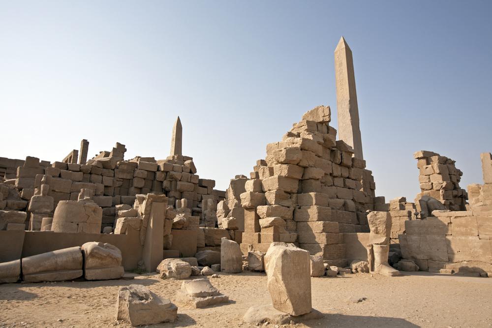Temple of Karnak Ruins