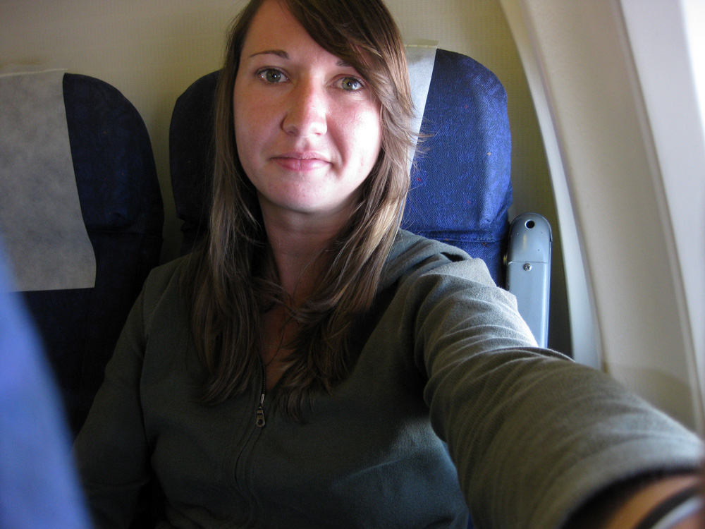 Kelly Flying to Zambia