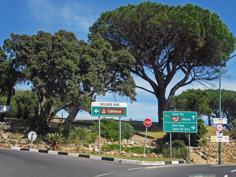 Table Mountain Entrance, Cape Town