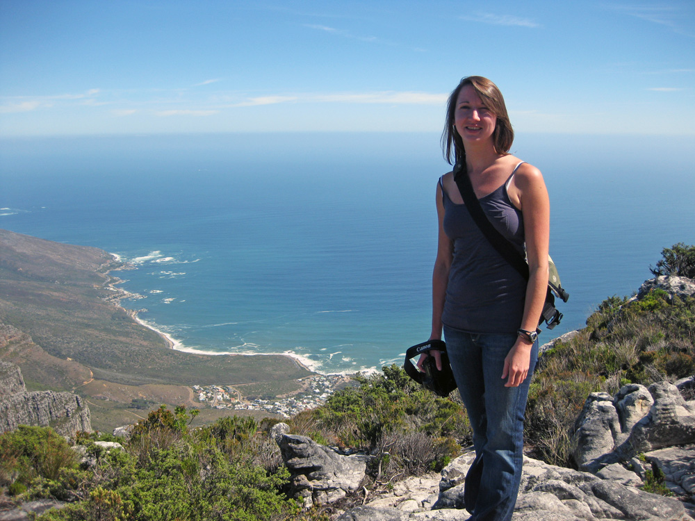 Me! On Table Mountain, Cape Town