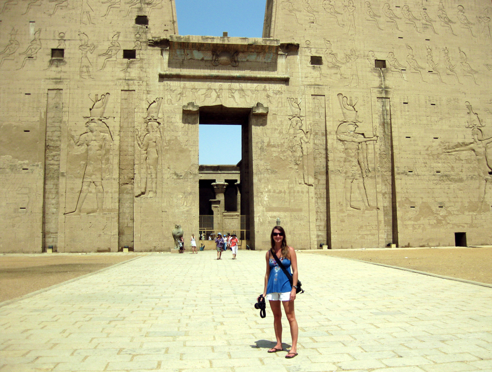 Cruising The Nile: Temple Of Edfu