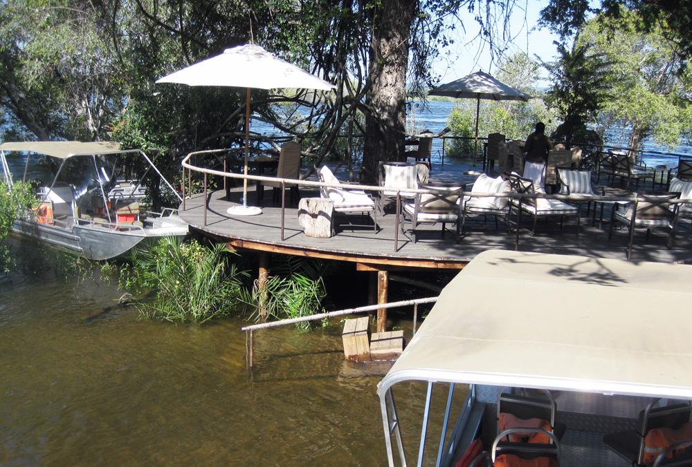 Toka Leya, Zambia - Dining Area
