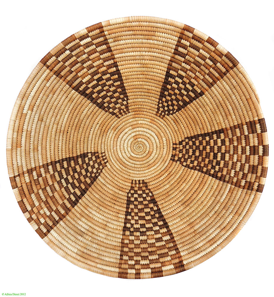 Back of the Python, Botswana Basket Design
