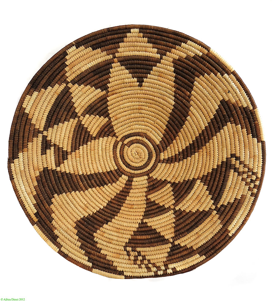 Botswana Palm Leaf Bowl Design