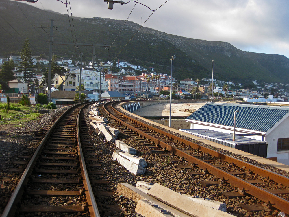 Fish Hoek Railroad, South Africa