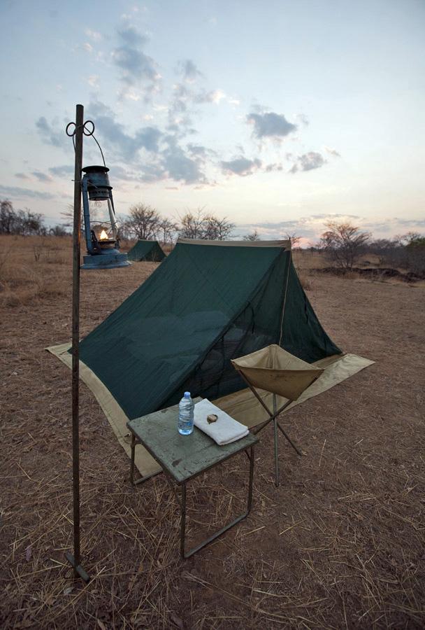 Fly Camp, Lukula Selous, Tanzania