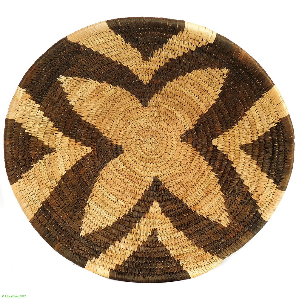 Forehead of the Zebra, Botswana Basket Design