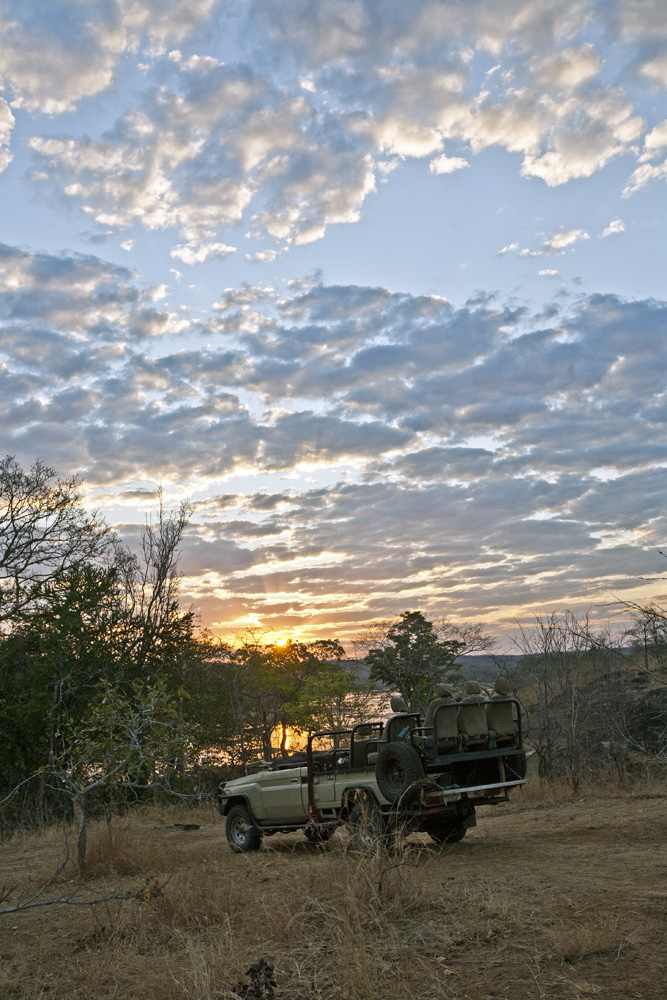 Sunrise on the Luwego River, Lukula Selous, Tanzania