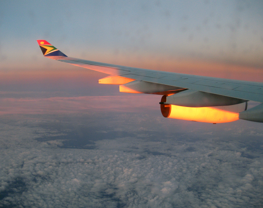 South African Airways, Sunset
