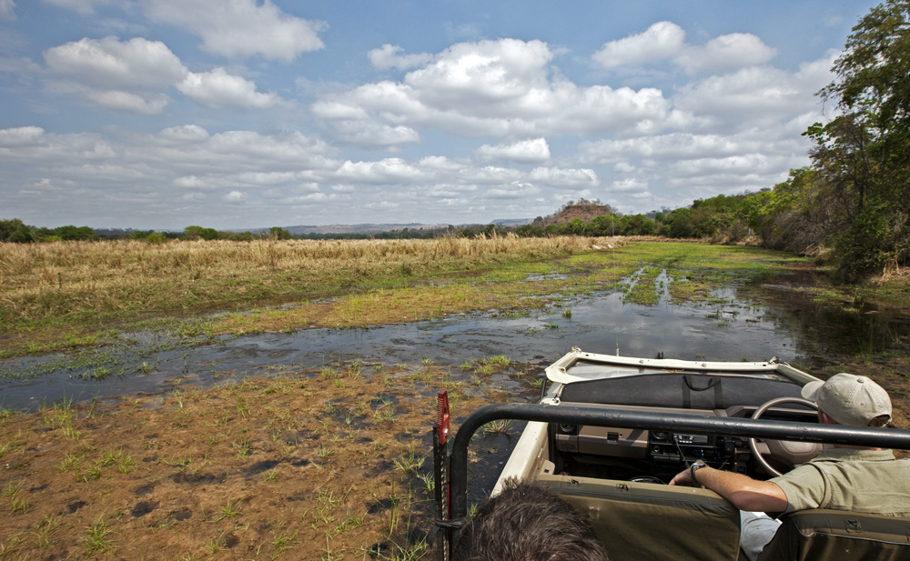 Back in the Landy, Lukula Selous, Tanzania