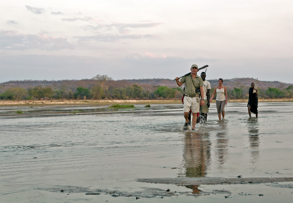 Lukula Selous River Crossing, Tanzania