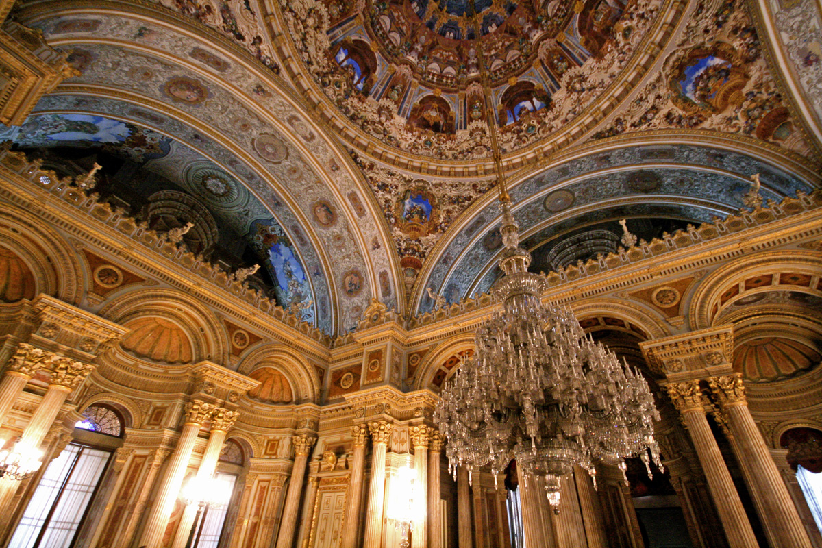 Dolmabahce Palace Chandelier, Istanbul