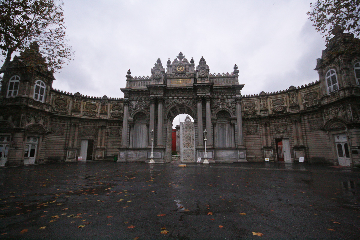 Dolmabahce Palace Gate, Istanbul