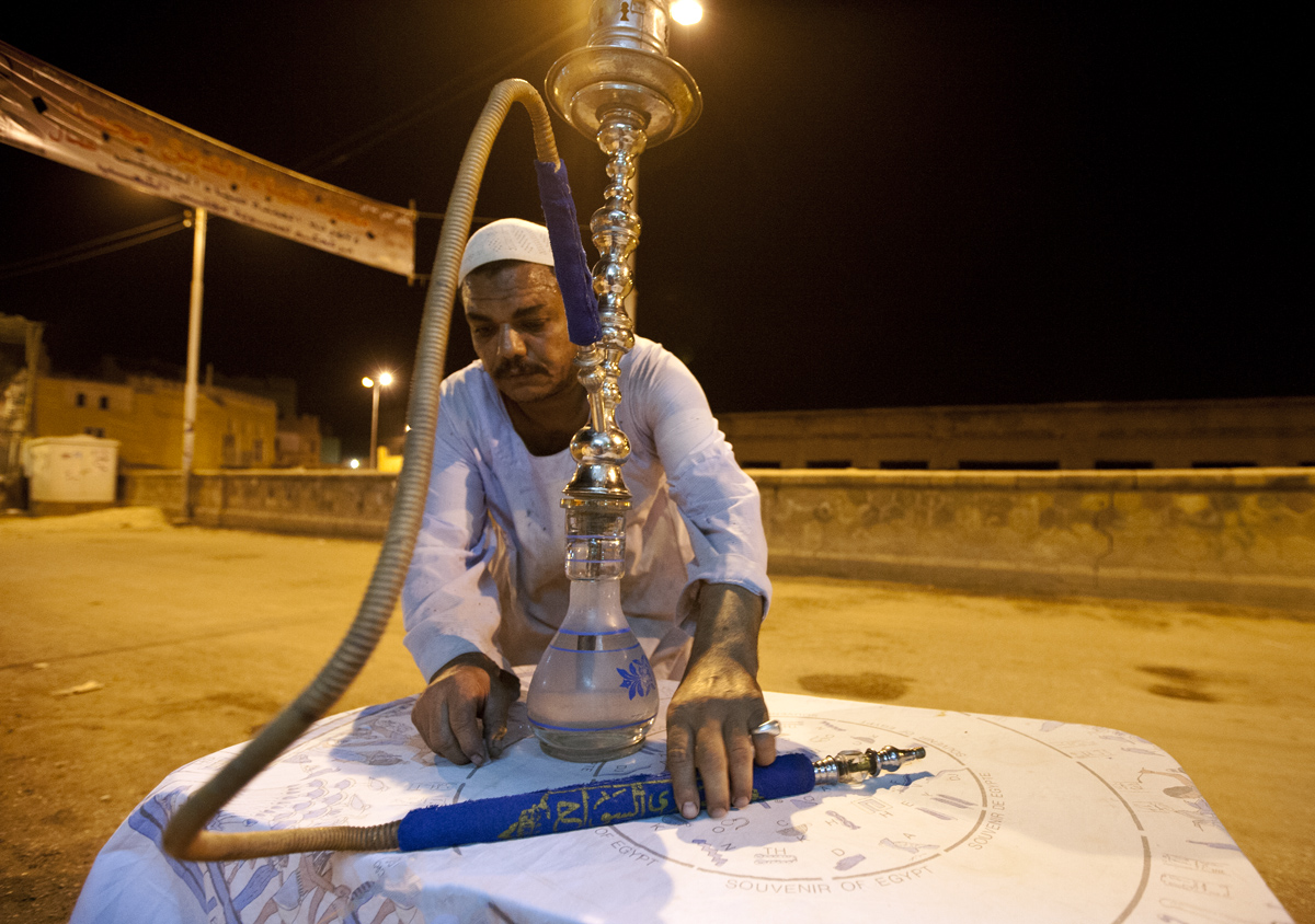 Hookahs And Dominoes In Aswan, Egypt