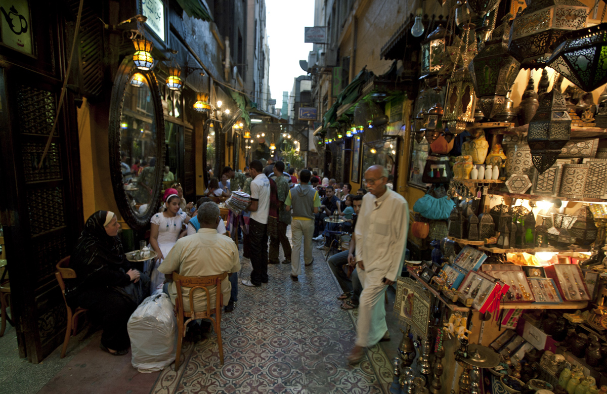 Cairo Cafe Alley
