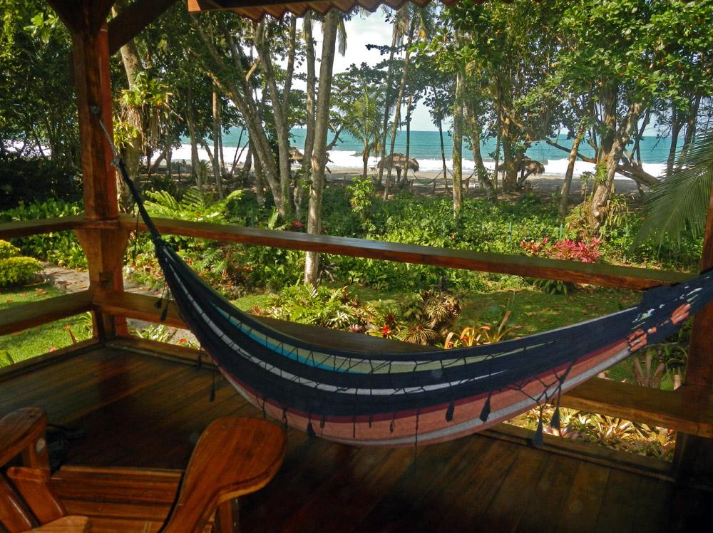 Costa Rica Puerto Viejo Hammock Banana Azul