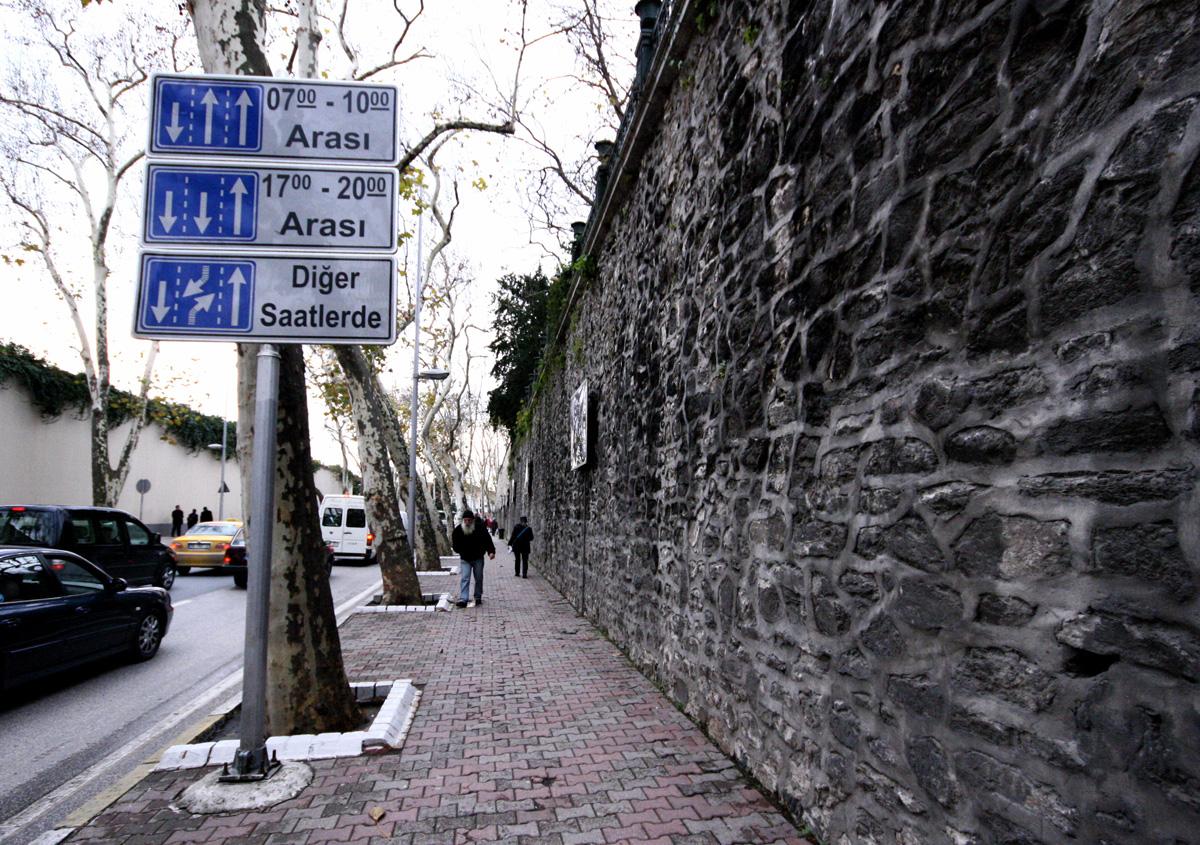 Driving Lanes, Istanbul, Turkey