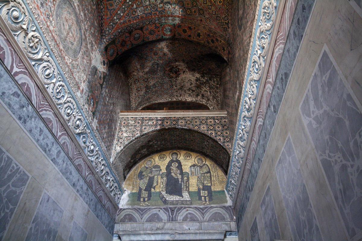 Detail, Hagia Sophia, Istanbul, Turkey
