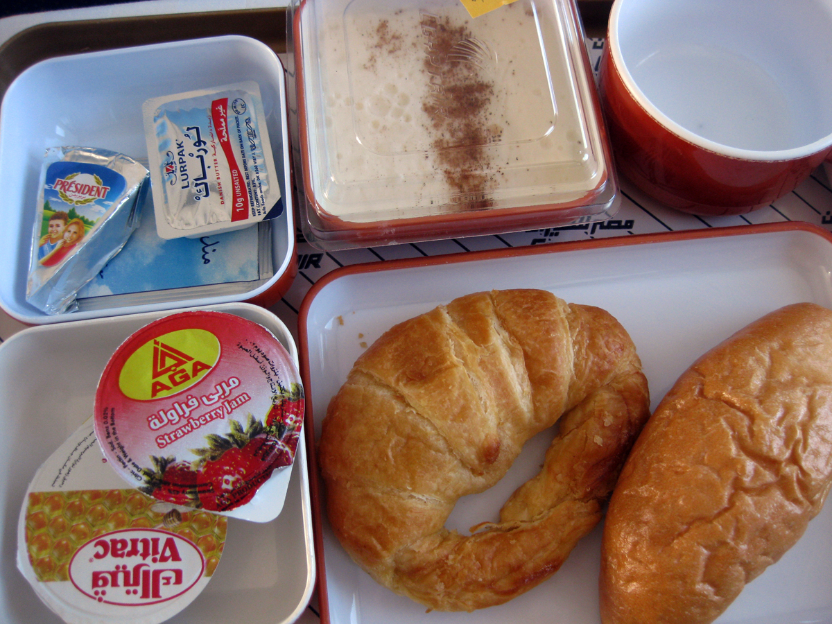Egypt Air Breakfast