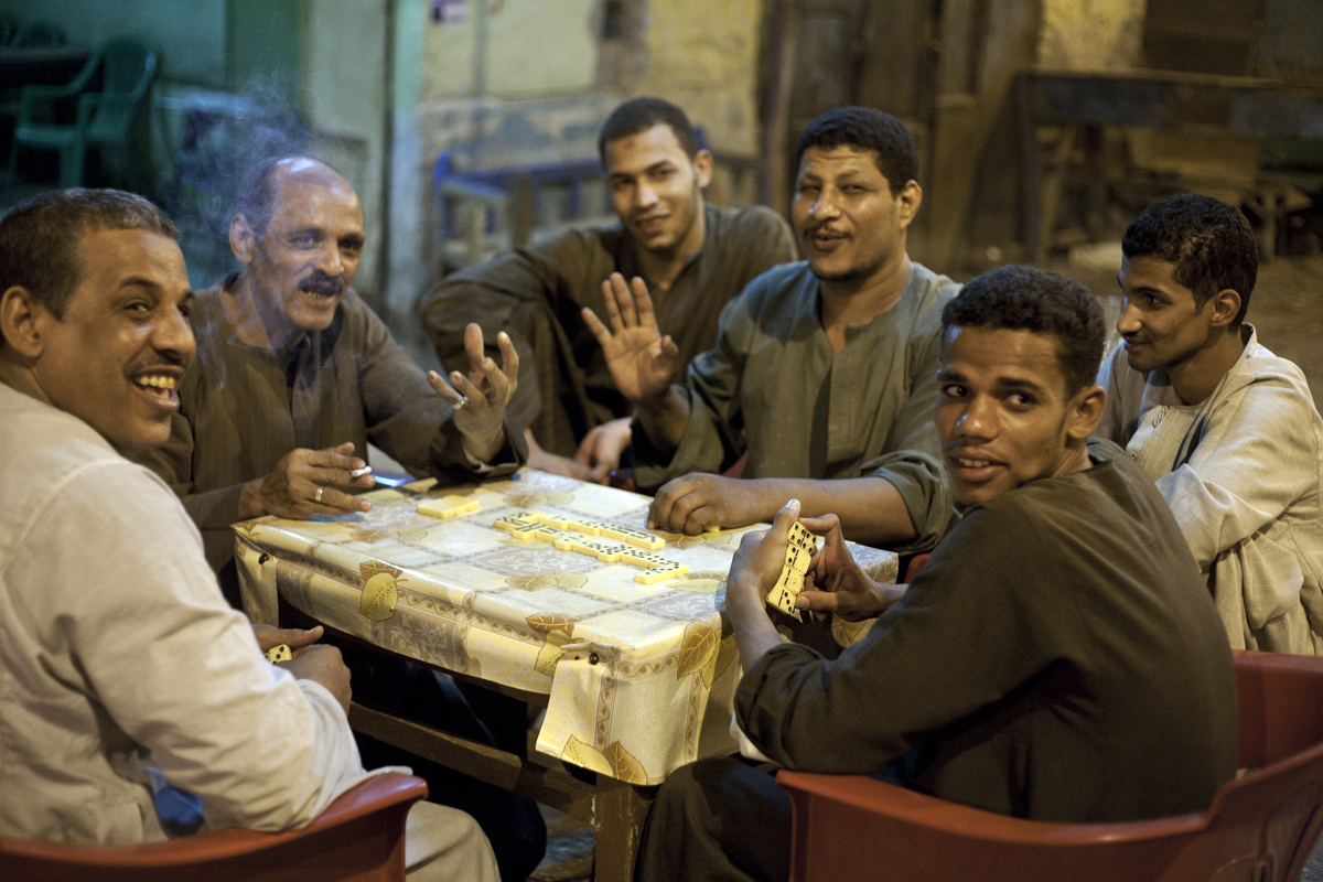 Egyptians Playing Dominoes