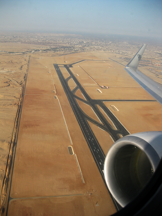Flight Cairo to Luxor
