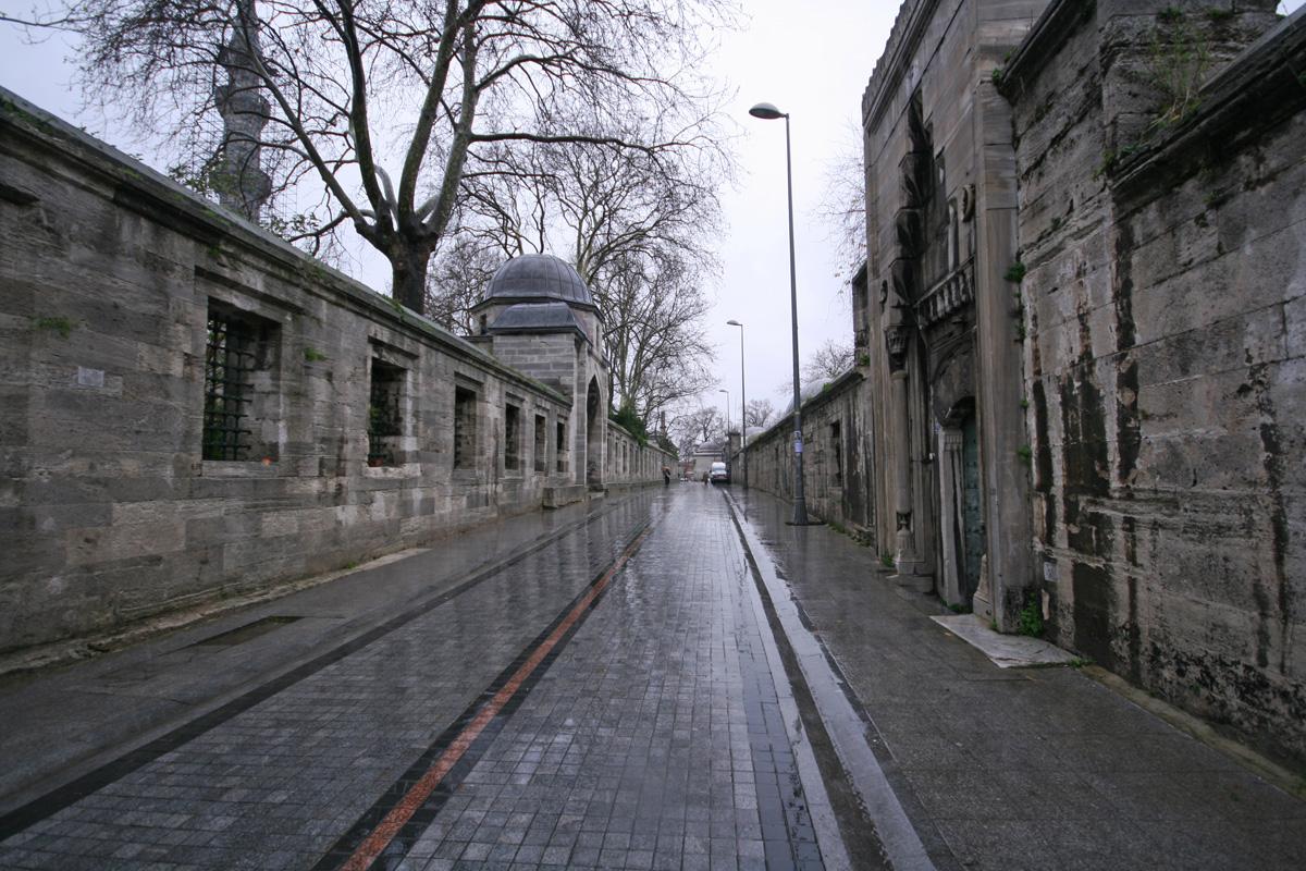 Empty Street, Istanbul, Turkey
