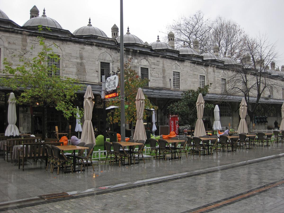 Rainy, Istanbul, Turkey